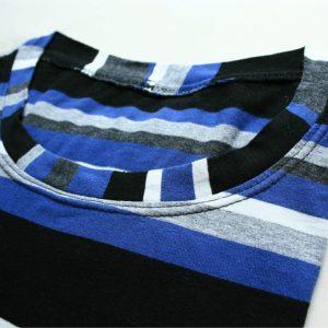 Longsleeve blue striped detail